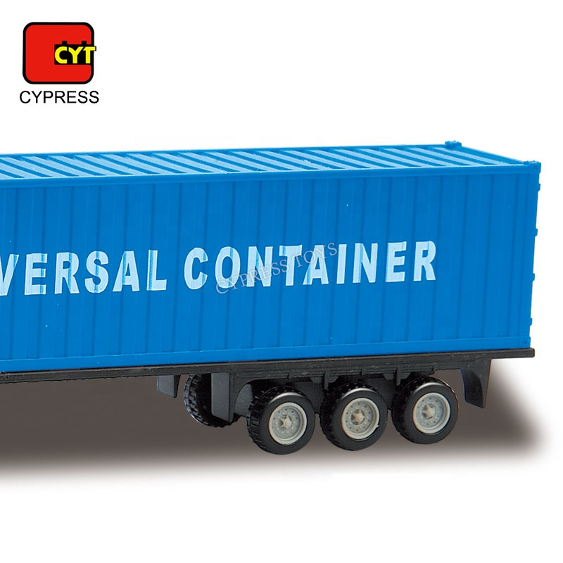 Die Cast Car Model 1/64 Truck Container Car Die Cast Toy