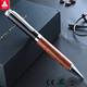 High quality metal ball point pen for gift wood material pen top sell ball point pen with logo