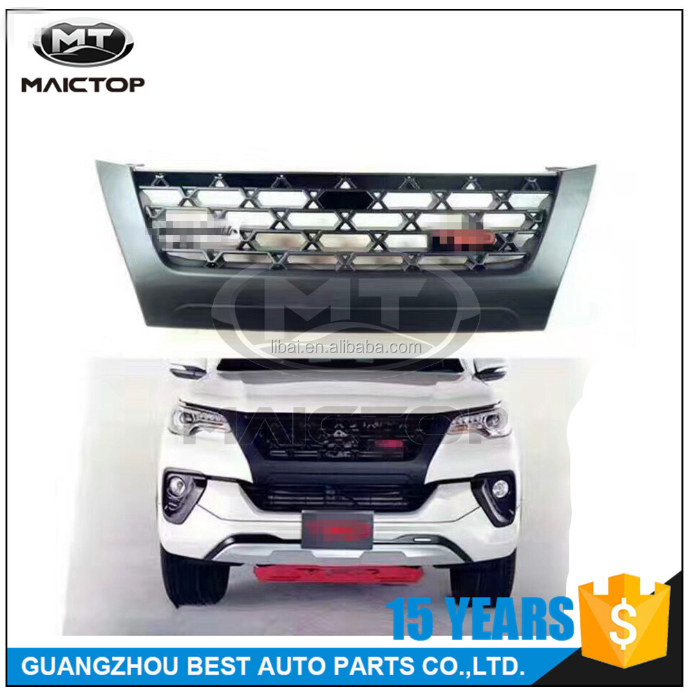 Top New TRD Grille for Toyota fortuner 2016 2017