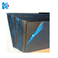 High quality customized 3K carbon fiber laminated sheet 2mm 10mm cnc cut carbon fiber plate