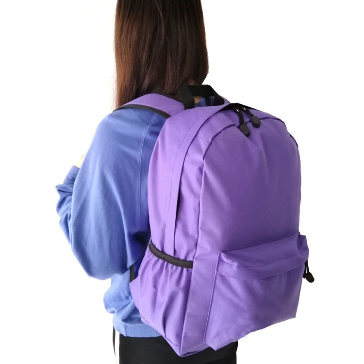 Outdoor Activities Water Proof Zippered 210D Nylon Mini Backpack For Unisex