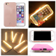2016 New Portable Charger Case 1700mAh Selfile Luminous Case Rechargeable Case for iPhone 6 6s Plus