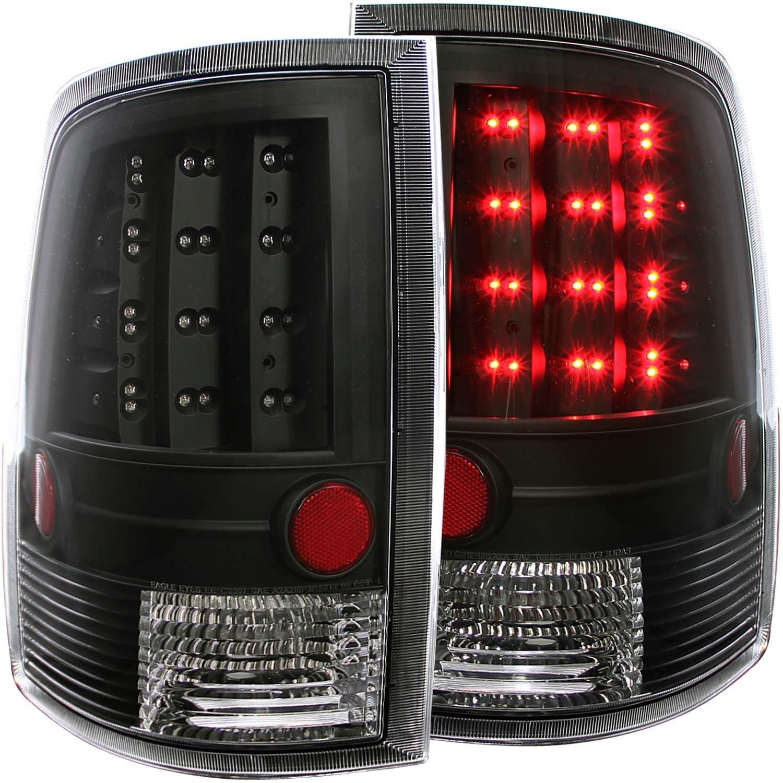 REAR TAIL LIGHT Dodge RAM 1500, Dodge RAM 2500, Dodge RAM 3500 2013 / 3500 2013 L.E.D S BLACK