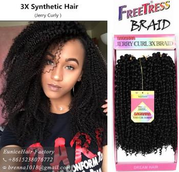 Savana 3x Box Braids Freetress Hair French Braids Deep Wave Hair