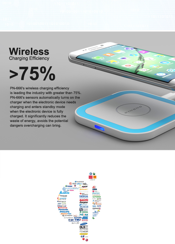 Portable 5v 2a universal qi standard cell phone wireless fast charger