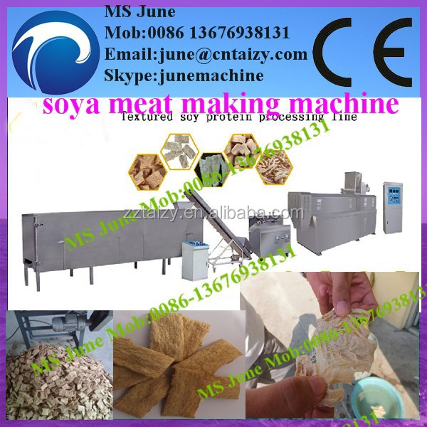 Textured Soya/Vegetable Protein Food Processing Line (skype:junemachine)