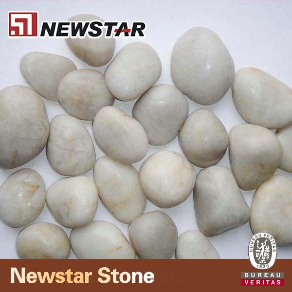 Glastegels In Badkamer ~ Natural stone pebbles pebble in bulk white jpg