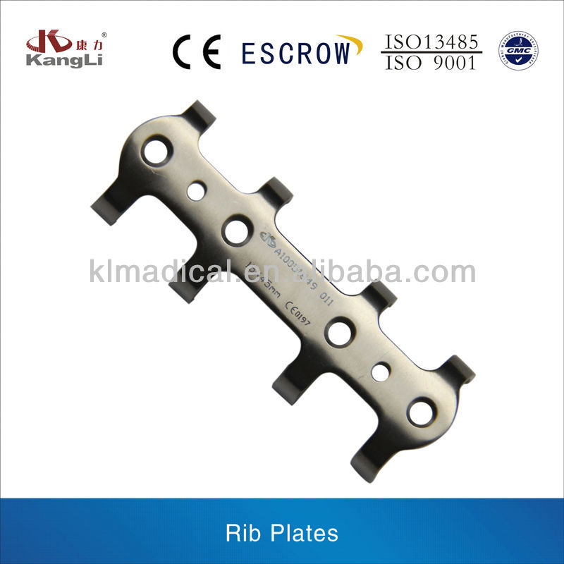 Rib Plates,Orthopedic trauma implants