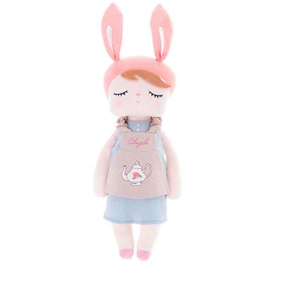 Metoo куклы Анжела кролик 35 см детские плюшевые игрушки куклы милые набивные игрушки куклы для детей девочек подарок на день рождения/Рождест...(Китай)