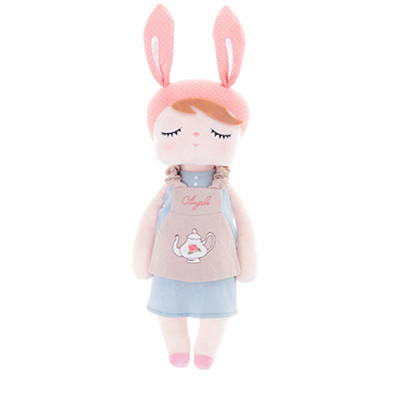 Куклы Metoo Angela Rabbit, 35 см, детские плюшевые игрушки, куклы, милые мягкие игрушки с животными, куклы для детей, девочек, подарки на день рождения/Р...(Китай)