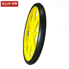 Flat free pu foam filling tire solid bicycle wheels 20 inch 20x1.75