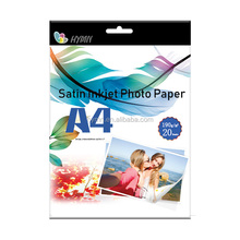 Sample size high glossy inkjet 180gsm a4 r6 5r 4r 4x6 double sided photo paper