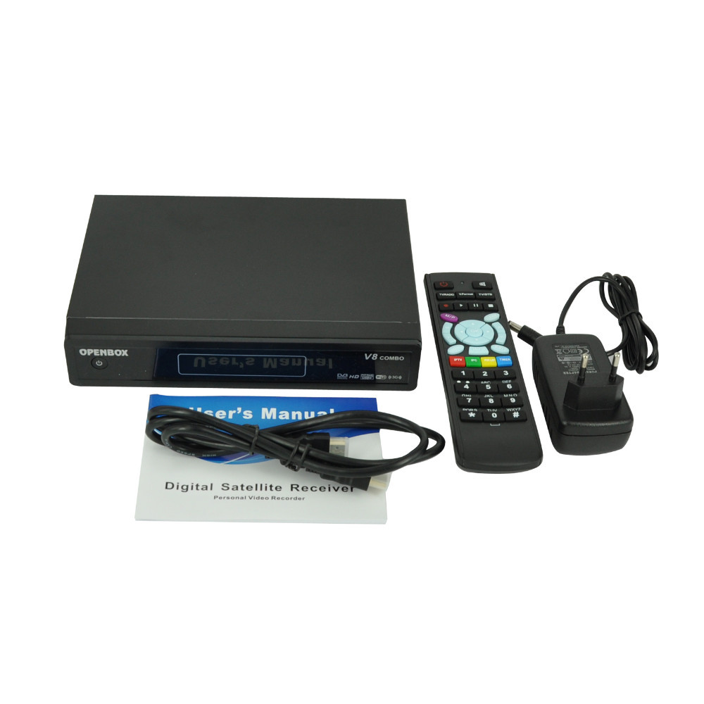 Buy Original Openbox V8 Combo Satellite Receiver DVB-S2+DVB-T2 HD