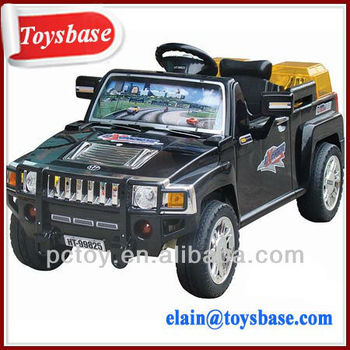 kids ride on electric car hummer