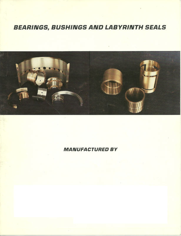 Bearings, Bushings,