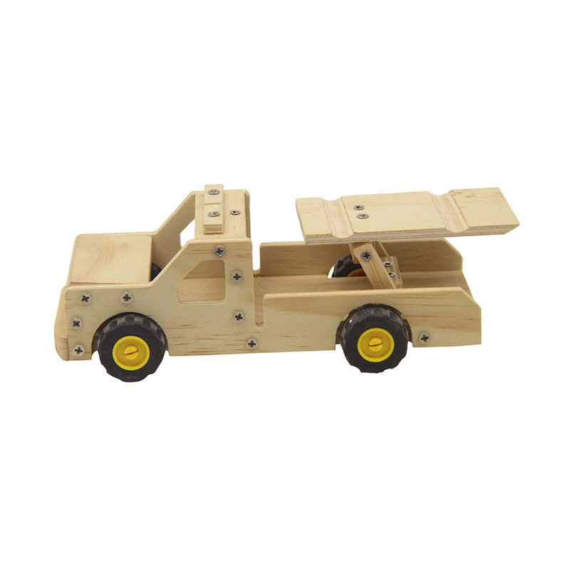 Hot Sale Diy Wooden Toys For Children Wholesale Educational New Design Diy Mini Wooden Educational Trucks Toys Buy Diy Wooden Toys For Children