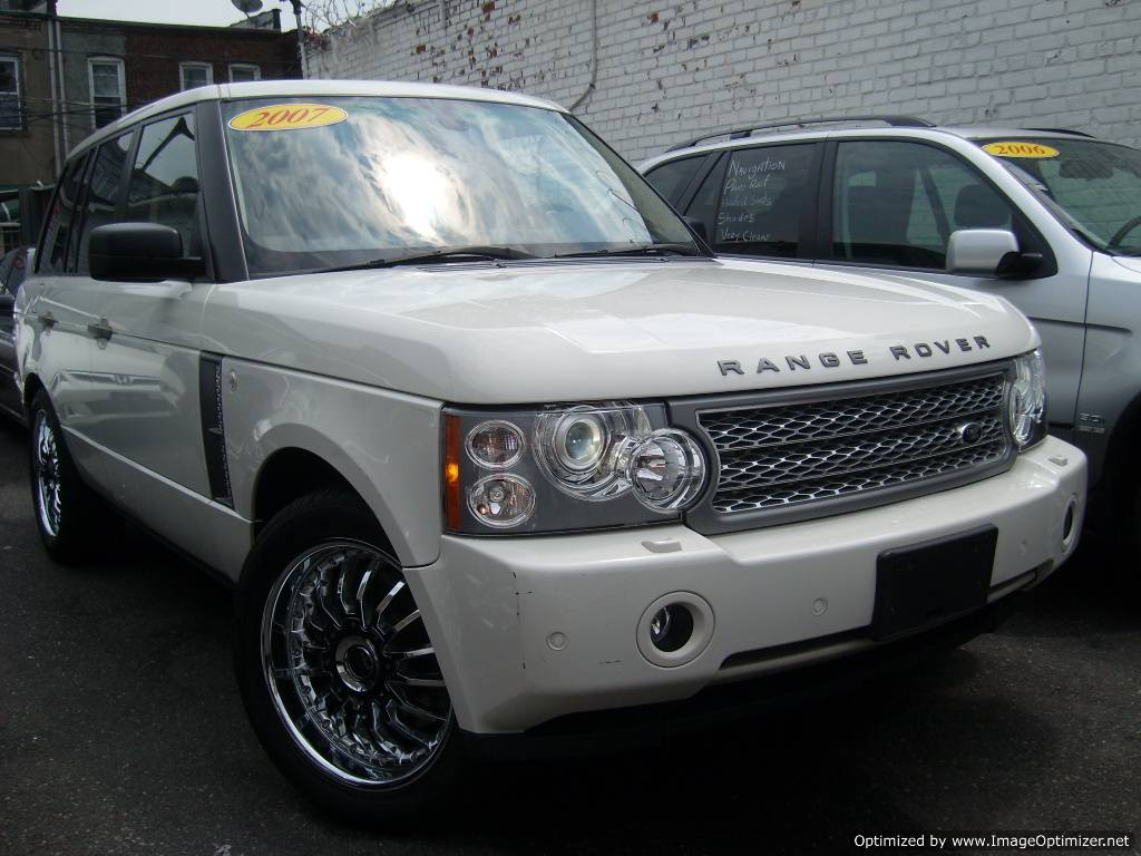 Used Range Rovers For Sale >> 2007 Used Cars Land Rover Range Rover Supercharged White No Accidents 1 Owner Buy American Japanese European Used Cars Suvs For Sale Product On