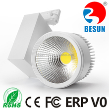 Competitive price high quality Epistar cob + Meanwell driver 50W cob led Track Light 5600-6400lm