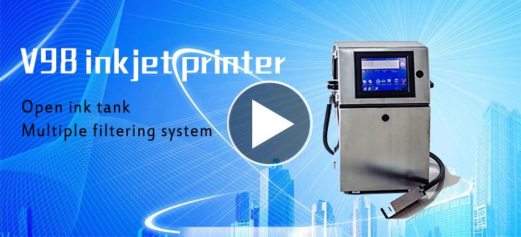 Leadjet V98 hoge prestaties glazen fles drukmachine vervaldatum codering machine