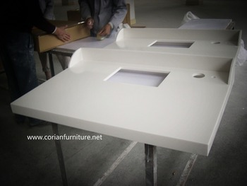 Corian Hi Macs Acrylic Solid Surface Tabletop