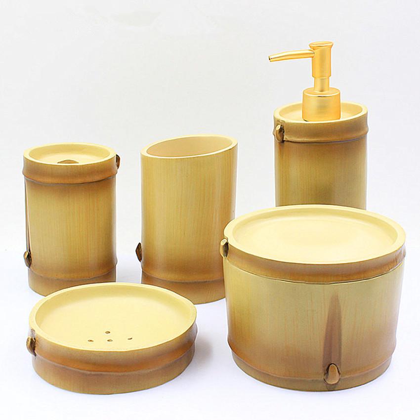 bambou salle de bains ensemble achetez des lots petit prix bambou salle de bains ensemble en. Black Bedroom Furniture Sets. Home Design Ideas