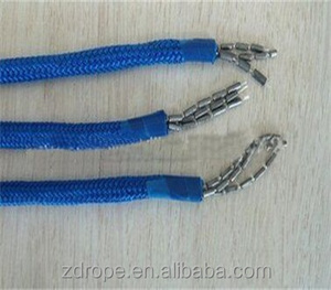 Braid rope type PP polyester nylon material braided Lead rope used in fishery