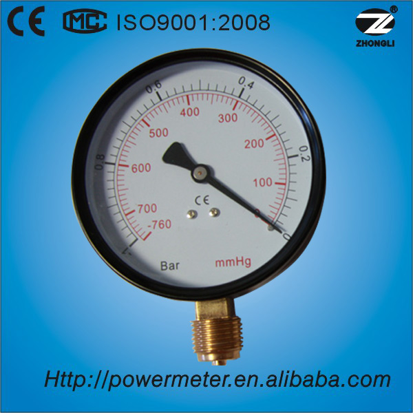 Mmhg Bar Gas Pressure Measuring Devices Measuring Instruments ...