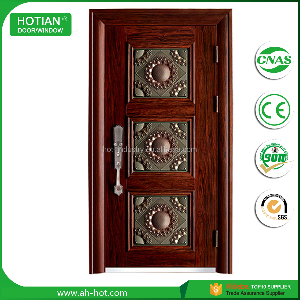 China Suppliers Asian 24 Inches Exterior Safety Door Pictures Front