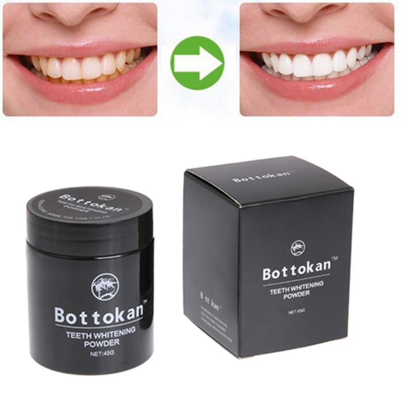 45g natural Healthy Tooth Cleaning Bamboo Charcoal Tooth whitening Powder Instead Of Toothpaste