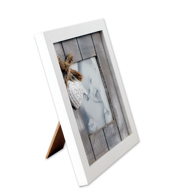 Custom <strong>Vintage</strong> Wood Photo <strong>Frame</strong> Holds two 4*4 Photos with Pendant photo <strong>frame</strong>