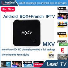 5pcs/Lot Arabic Iptv Box Leadcool Android Tv Box Quad Core