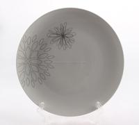 Wholesale cheap bulk food porcelain plate ceramic daily used salad/dessert/soup dinner plate
