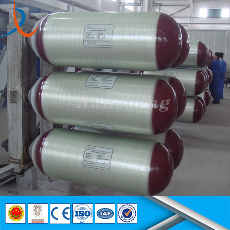 Customized size industrial gas cylinder / gas cylinder bottle / 50kg lpg gas cylinder for storage