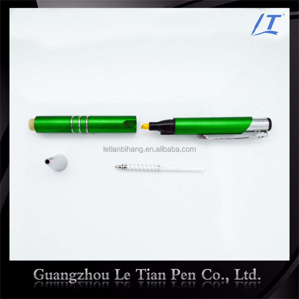 LT-Y033 Marker pen with rubber barrel for office or school supply