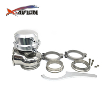 Factory Sale 60mm Vband And Flanges 5/12/14 PSI External Turbo Charger Wastegate
