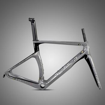 OEM bicycle parts 700C super light carbon fiber road bike frame ...