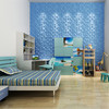 Clear Plastic Interior 3d Textured wall panels Plant Fiver Wall 3d Panels