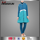 2016 Newest Islamic Sportswear Tunic Zipped Turkish Muslim Clothing Dubai Abaya