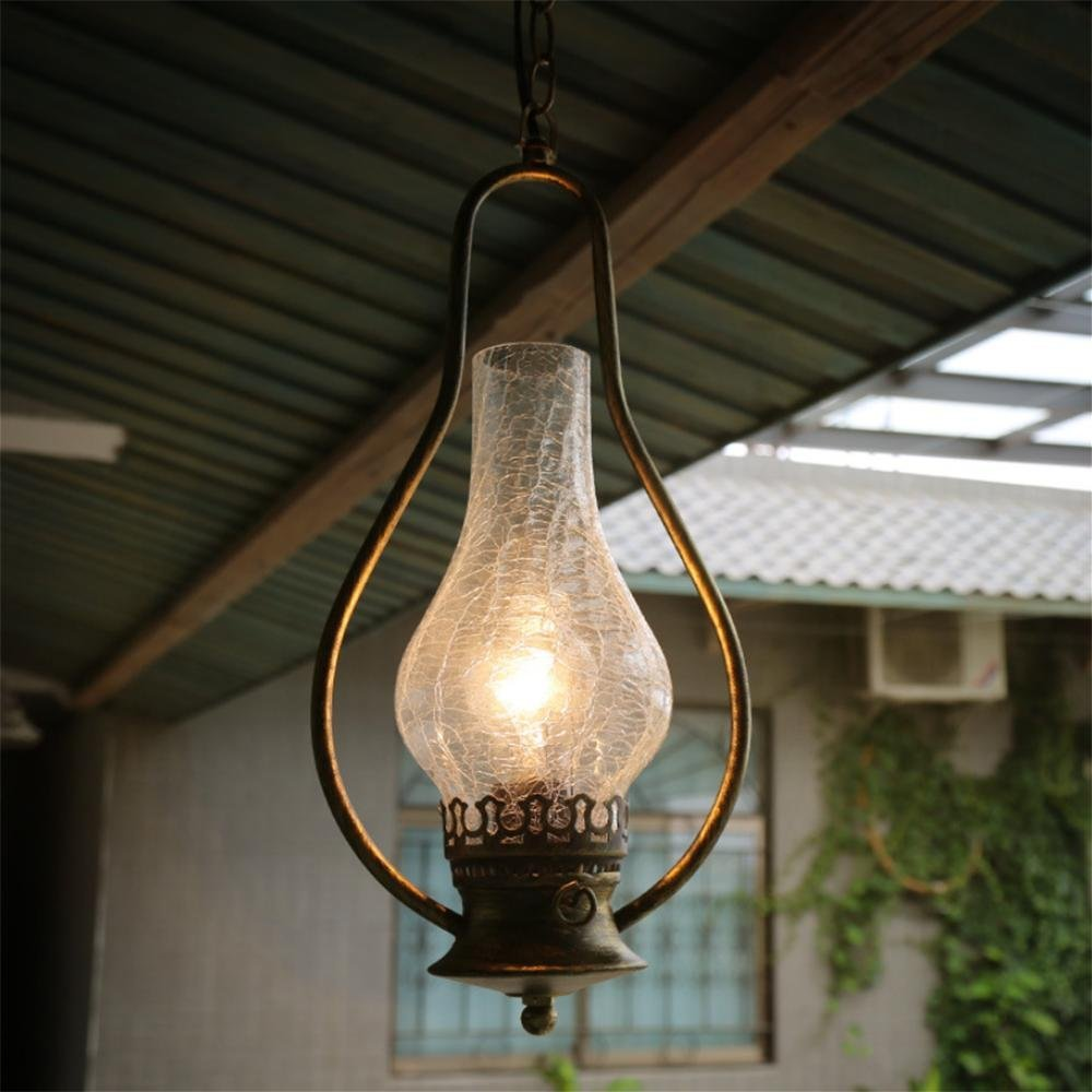 GAO LGDT Retro chandeliers, industrial tea floor lamp, the classic old chandeliers 20CM 98CM