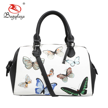 Fj35 020 China Supplier 2018 New Bag Collection Butterfly Handbag