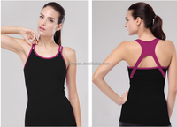 Hot Stretch Thermo Slimming Sport Yoga Tank Top For sexy girls sleeveless top