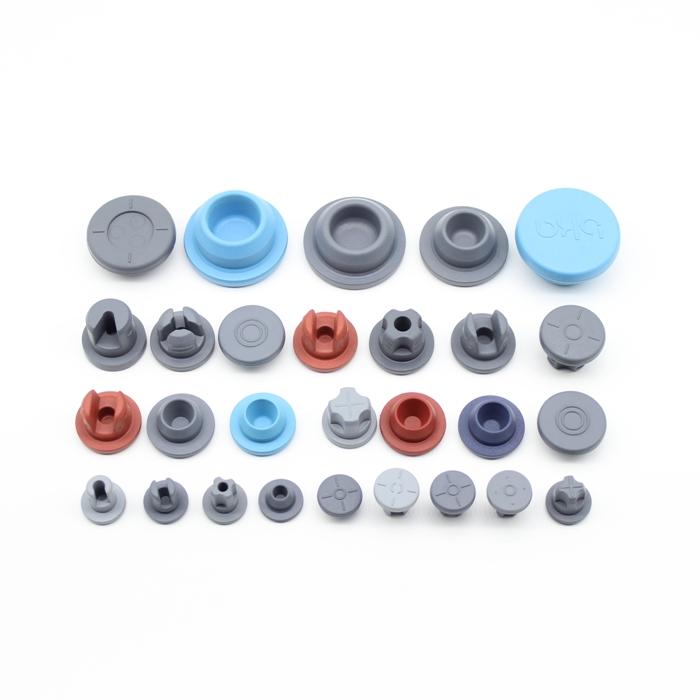 13mm 20mm 32mm Pharmaceutical Butyl Rubber Stopper used for Glass Bottle