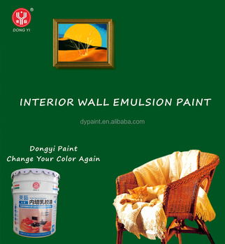 Odorless Washable Matt Interior Wall Waterbased Acrylic Latex Paint Buy Interior Wall Emulsion