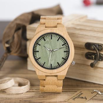 7be5d8253715 BOBO BIRD High quality new fashion bamboo wooden watches men wood quartz wrist  watch