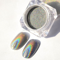 2018 Fashionable Professional Holographic nails Powder For Nail gel Polish