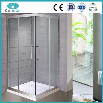 2 Sided Shower Enclosure Free Standing Glass Shower Enclosure Buy 2 Sided S
