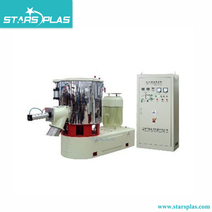 Latest design color dry powder plastic mixing blender machine