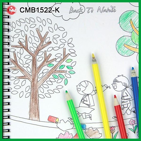 Eco Friendly Color Mágico Lápices Y Baratos Libros Para Colorear ...