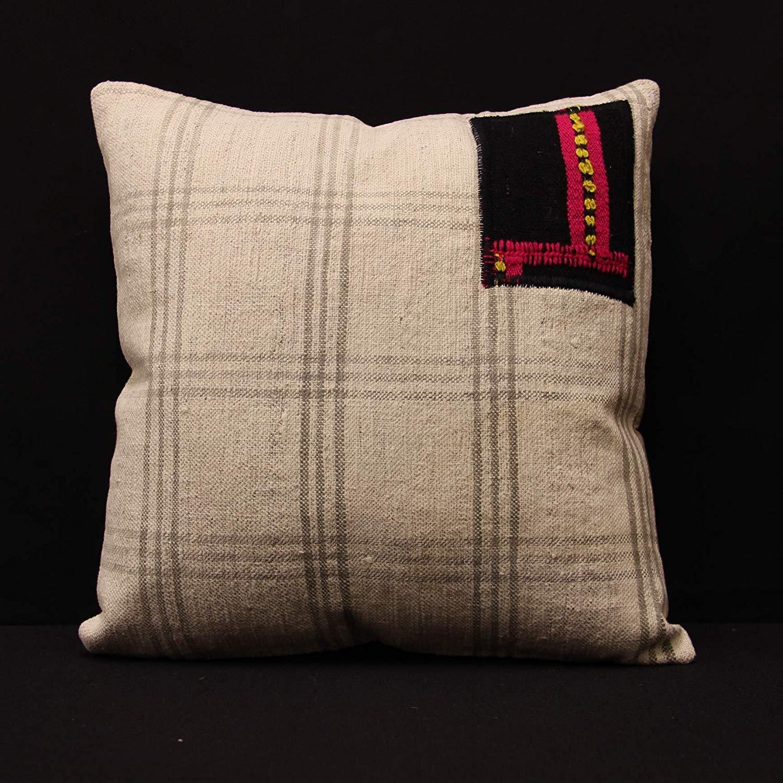 Get quotations · kilim pillow designed by tursun16x16 inch homekitchen bedding pillow covers decorative pillow boho kelim pillow interior