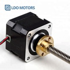 CE ROHS nema17 42mm 5kg.cm Holding Torque External linear stepper motor with/without nuts